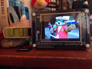 Pi photo frame
